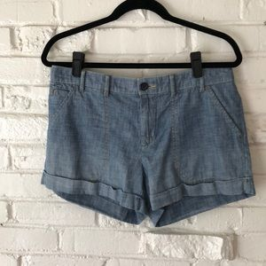Gap Chambray Shorts